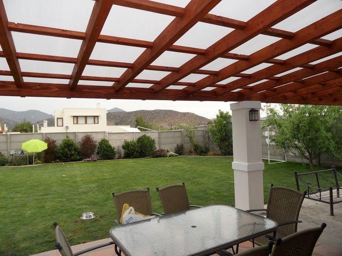 M s de 1000 ideas sobre techo policarbonato en pinterest for Materiales para cubrir pergolas