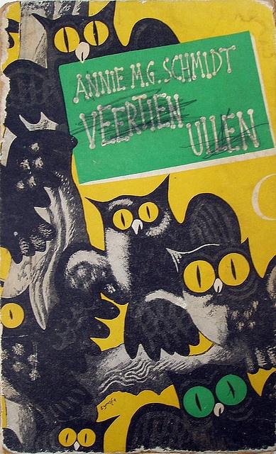 'Veertien Uilen': Dutch children's book 'fourteen owls' by Annie MG Schmidt: love it!