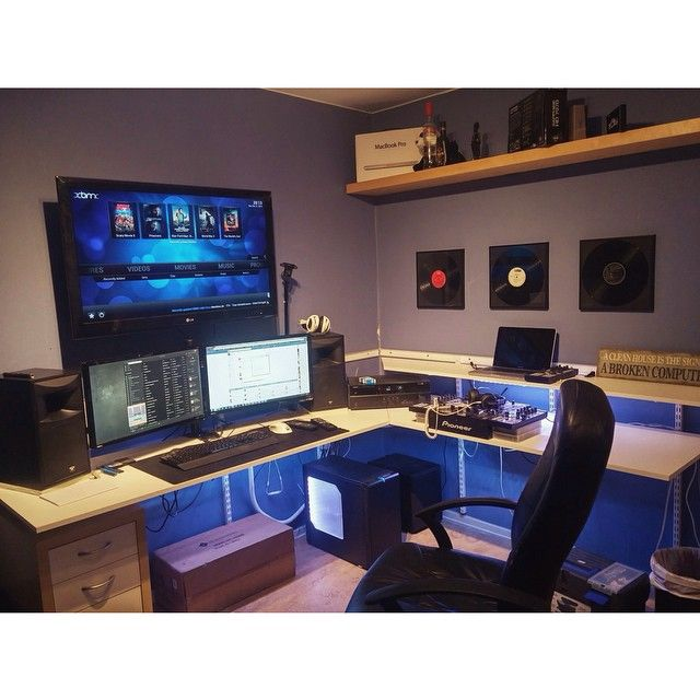 """This guy has it made. #battlestations #battlestation #gaming #gamer #pcgaming…"