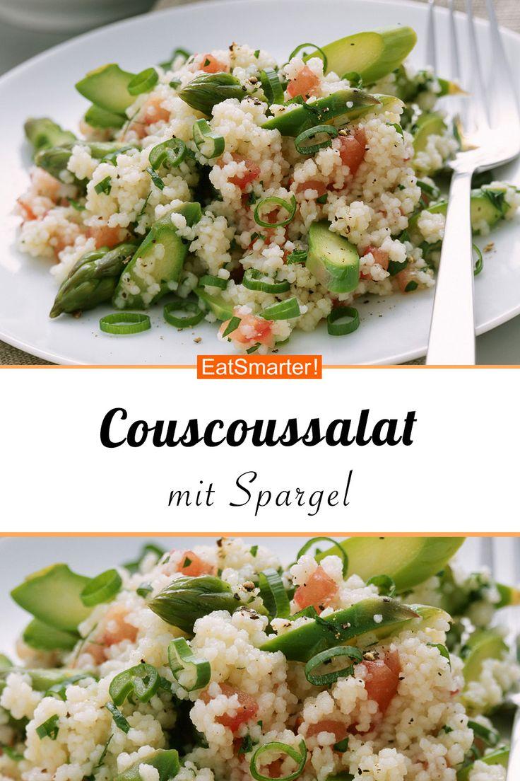 Couscoussalat mit Tomatendressing