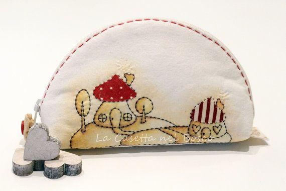 Tiny Woodland Village  Handmade vintage sepia di LaCasettaNelBosco, €32.99