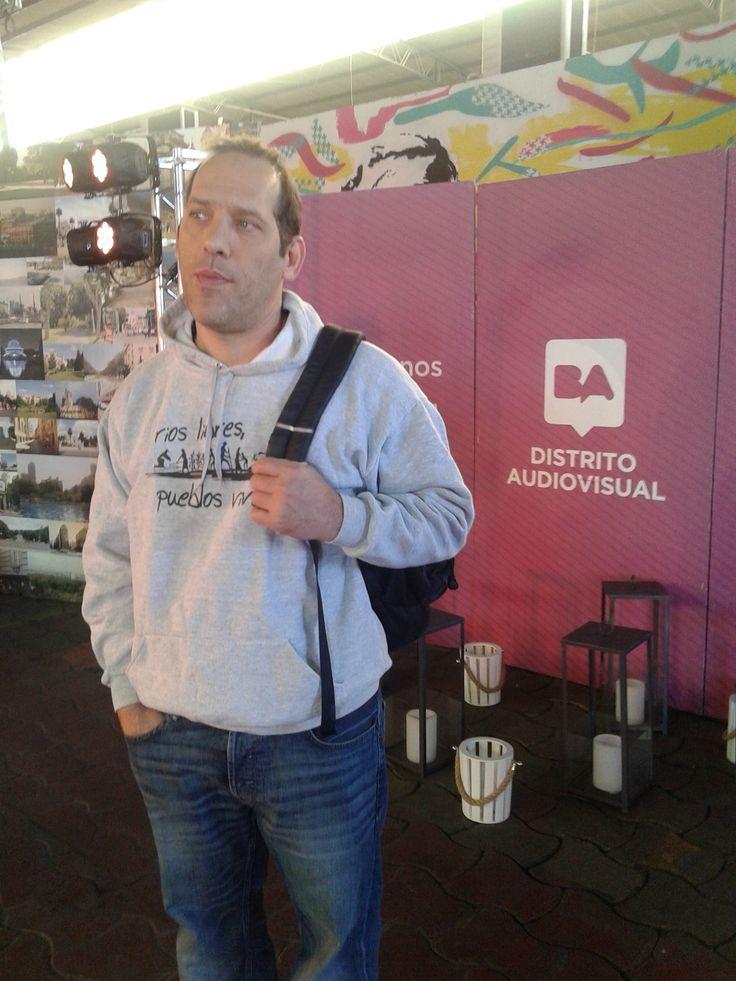 Gabriel Balanovsky at ENA Encuentro de Negocios Audiovisuales de Distrito Audiovisual de CABA