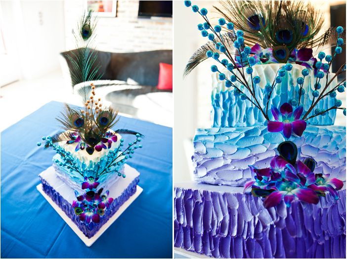 Gorgeous! Ombre peacock cake? yes!Peacocks Cake, Dreams, Peacocks Wedding Ideas, Peacocks Ideas, Colorful Cakes, Peacocks Wedding Cake Ideas, Colors Cake, Peacocks Feathers, Flower Wedding Cake Peacocks