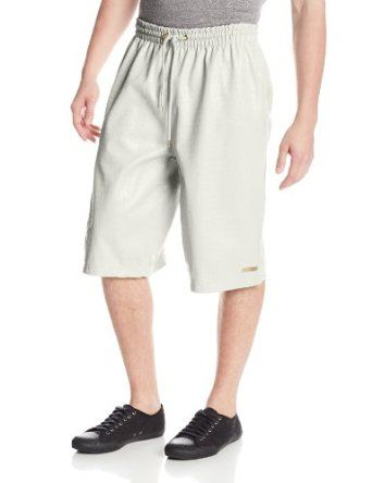 Southpole Men's Shorts In Alligator Material and Elastic Waistband with Strings   List Price:$60.00 Price: $15.68 - $35.99