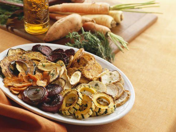 Gemischtes gebratenes Gemüse ist ein Rezept mit frischen Zutaten aus der Kategorie Wurzelgemüse. Probieren Sie dieses und weitere Rezepte von EAT SMARTER!