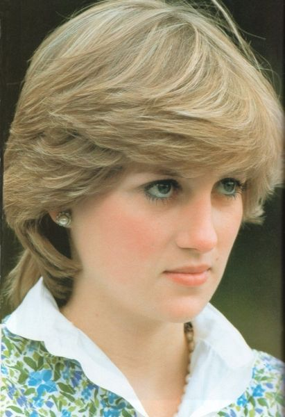 Lady Diana watching the polo 1981