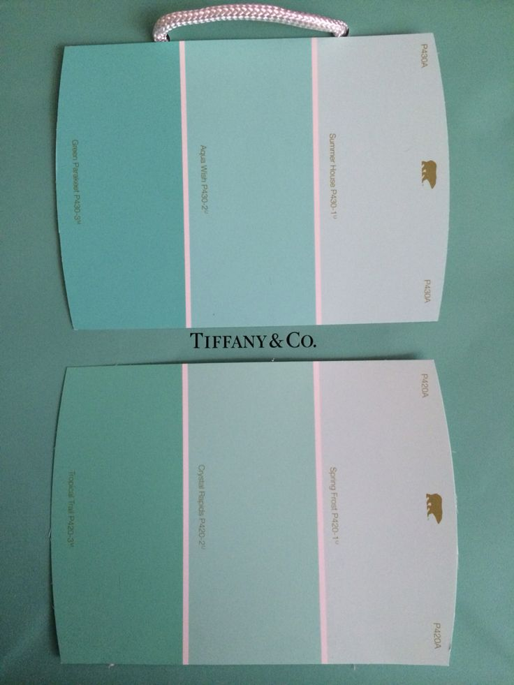 Tiffany Blue Behr Paint Color Matches For The Home