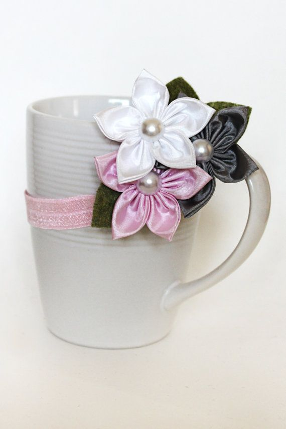 Delightful Daisies headband you pick colors by JensBowdaciousBows