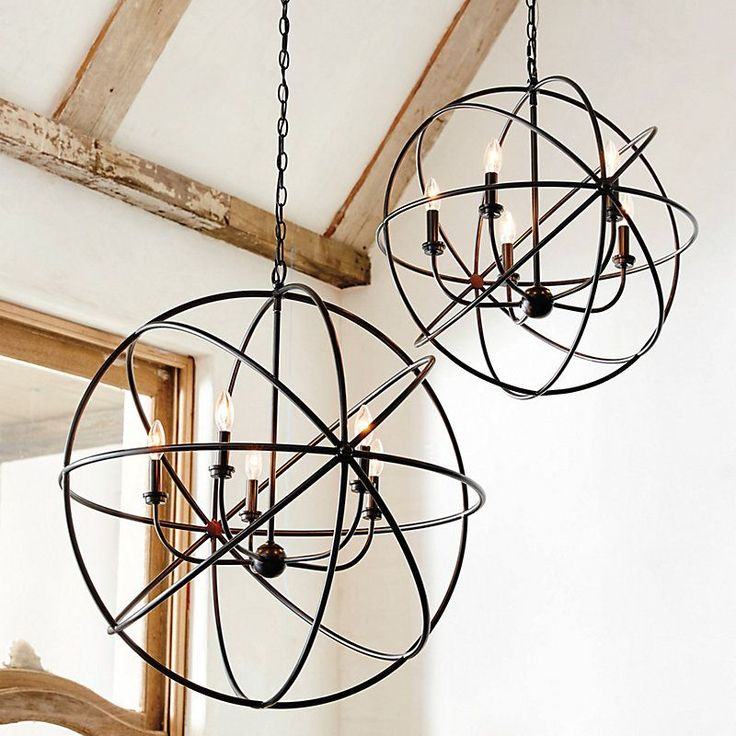 25 best ideas about Orb chandelier on Pinterest