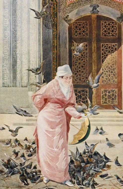 Ottoman lady, beginning 20st century