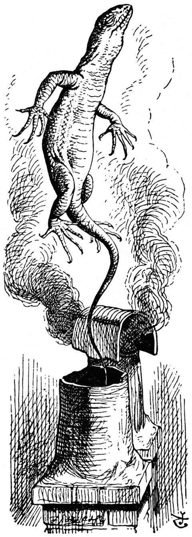 Lizard Bill - John Tenniel - Alice - Pictify - your social art network