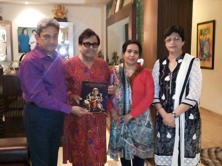 Shri Ajay Seth, Shri Narendra Chanchal Ji, Shrimati Namrata Chanchal Ji, Shrimati Meena Seth