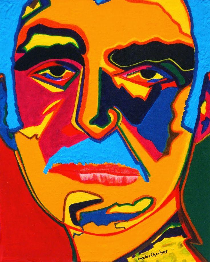 """Una idea, mucho arte""""Por fortuna, Macondo no es un lugar, sino un estado de ánimo que le permite a uno ver lo que quiere ver y verlo como quiere""""  Gabriel García Márquez """"Evocaciones interiores"""" Técnica mixta, s/ cartón entelado, 24 x 30  Autora Ángeles Charlyne"""