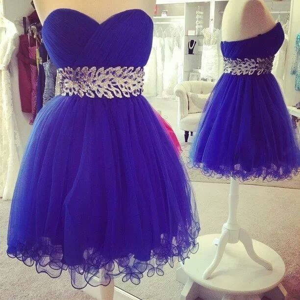 Banquet blue dress. ♥