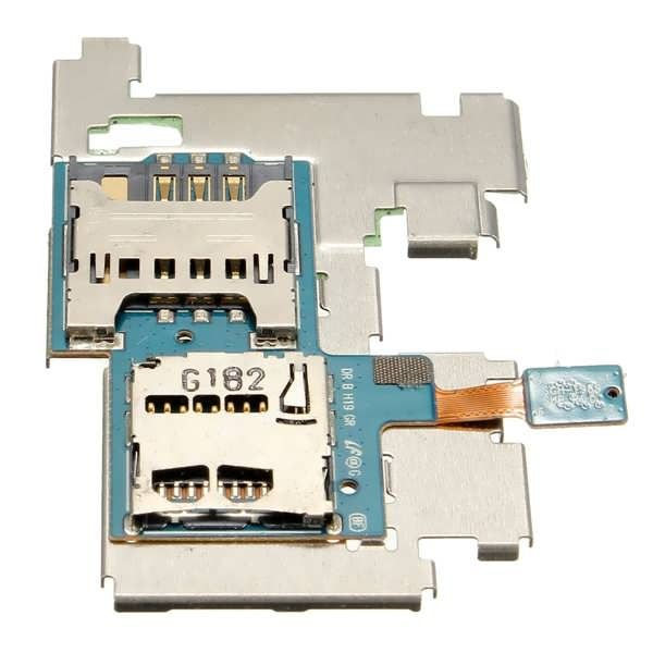 SIM Card SD Card Reader Holder Tray Slot Replacement  For Samsung Galaxy S2 T989  Worldwide delivery. Original best quality product for 70% of it's real price. Buying this product is extra profitable, because we have good production source. 1 day products dispatch from warehouse. Fast...