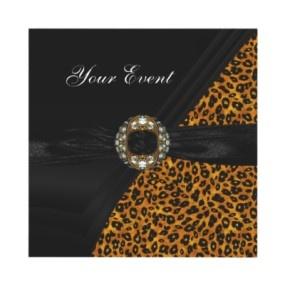 17 Best Images About Leopard Print Wedding On Pinterest