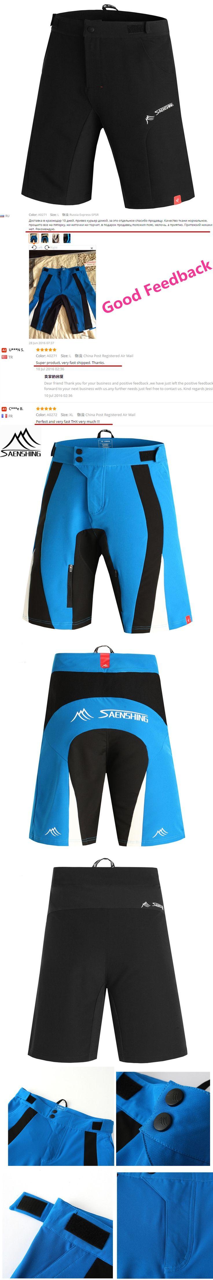 SAENSHING Downhill Mtb Shorts Men Bicycle Cycling Shorts Adjustable Waist Mountain Bike shorts Sport Short Vtt bermuda ciclismo