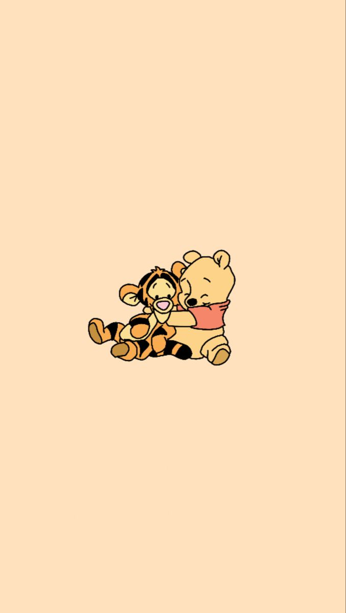 Winnie The Pooh And Tigger Background Cute Wallpapers Cute Disney Wallpaper Cute Backgrounds