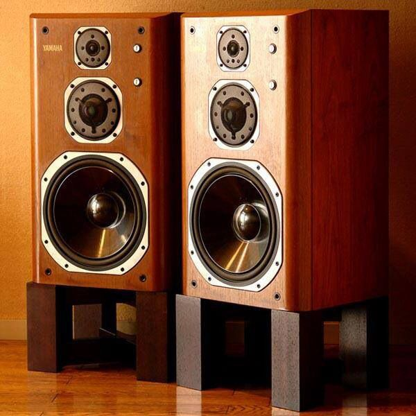 YAMAHA NS-2000. True school set of speakers. I love to listen Good Ol' Herbie on them:)