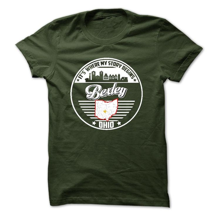 Bexley, Ohio - Its Where My Story Begins - Special Tees 2015