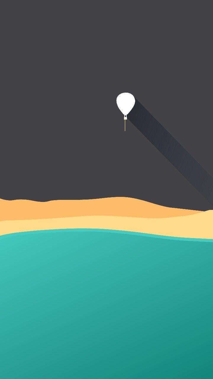 Hot Air Balloon Wallpaper Click To Get It Minimalist Wallpaper Android Wallpaper Minimal Wallpaper