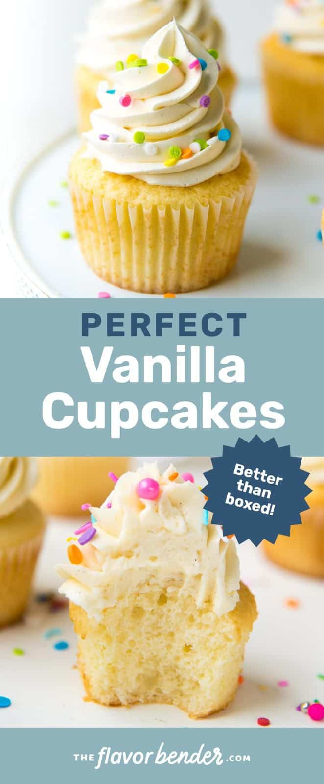 The Only Vanilla Cupcake Recipe You Will Need Get All The Tips You Need To Make Perfect Moi In 2020 Vanilla Cupcake Recipe Easy Vanilla Cupcakes Easy Cupcake Recipes