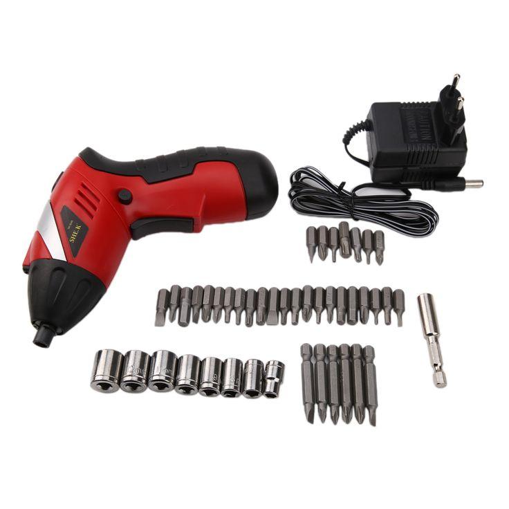 Electric Drill Cordless Screwdriver Battery Rechargeable Electric Power Tools Set Multi-function Electric Drill Kit