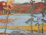 Sidney+Charles+Mooney+-+AUTUMN+AFTERNOON,+oil+on...+on+MutualArt.com
