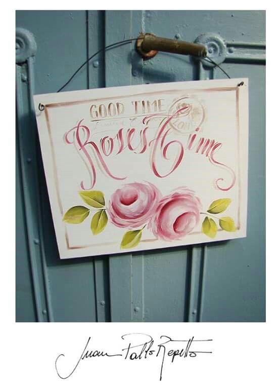 Cartel Roses Time (Juan Pablo Repetto)