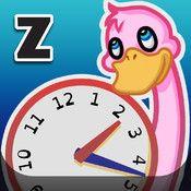 Zcooly Klockgården - ta hand om djuren och lär dig analog och digital klocka på köpet
