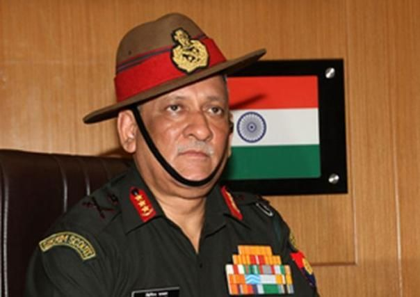 Army chief General says India Must Be Prepared For Two-front War