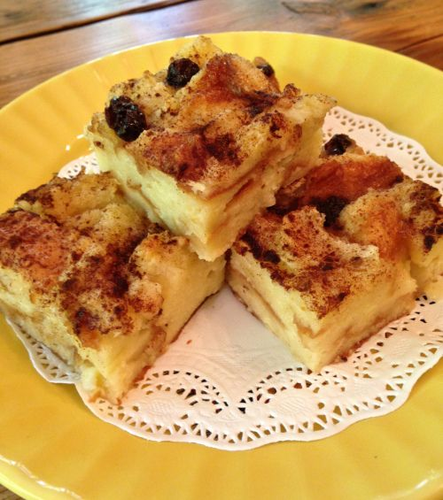 Hawaiian Sweet Bread Pudding