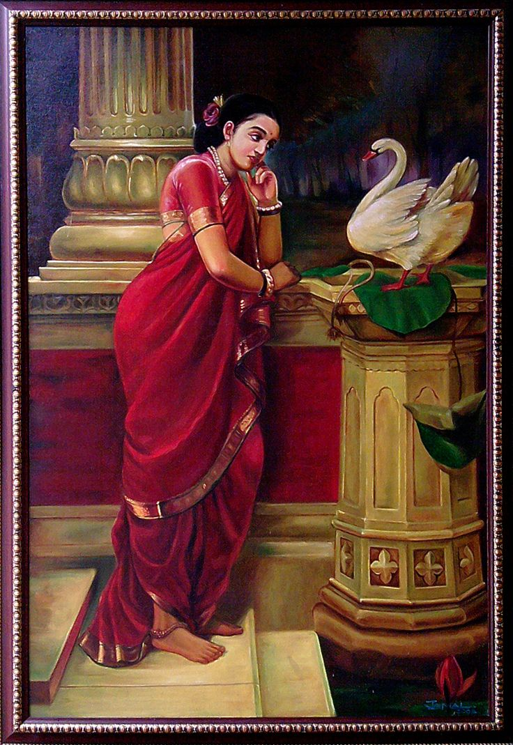 101 best ravi varma painting's images on Pinterest ...