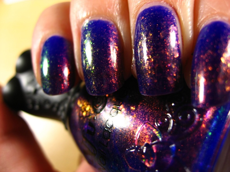 Nfu Oh 51...it's like the galaxy on your nails!