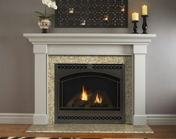 Kenwood Flush Mantel Family Room In 2019 Fireplace