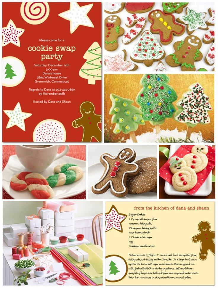 Cookie Swap...maybe next Christmas :)