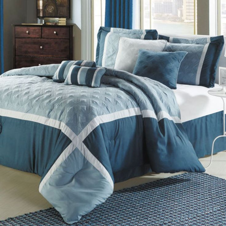 Blue King Size Comforter Sets