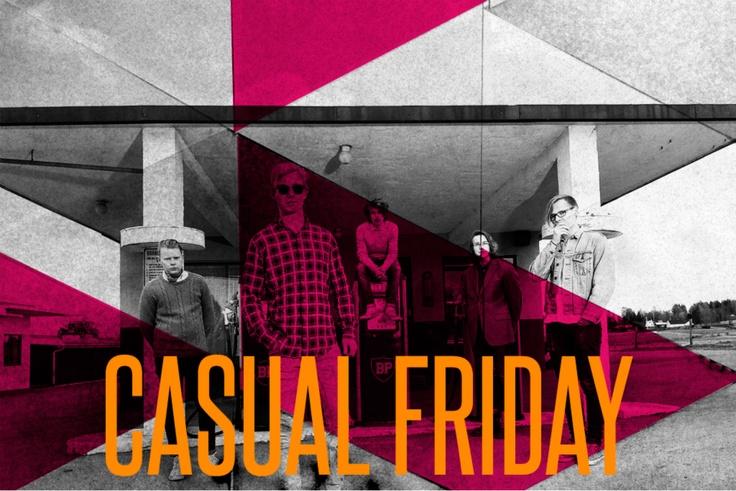 Casual Friday som la opp i desember kommer tilbake for å gjøre en siste konsert hos oss på Total