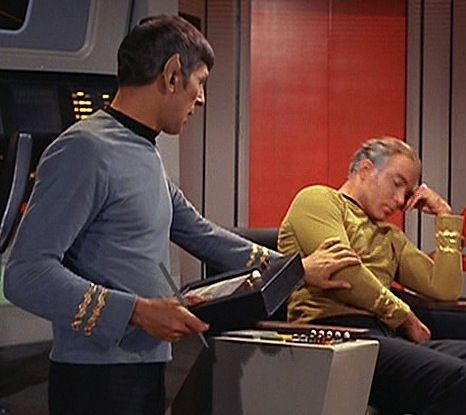Spock and Kirk...