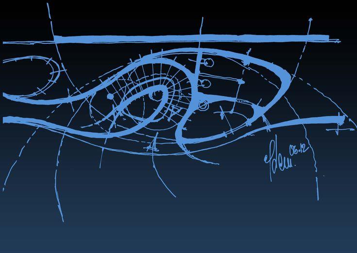 ajando Next Level CRM - stairway  sketch by Peter Stasek