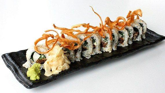 Maki med svamp, flera olika sorters lök & friterad palsternacka Samt grundrecept på sushiris som du sedan använder till maki, nigiri och chirashi sushi.