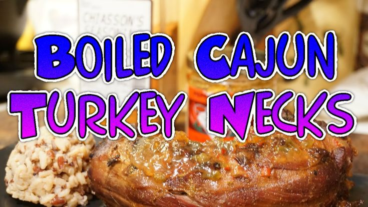 Jr Chiasson's Boiled Cajun Turkey Necks
