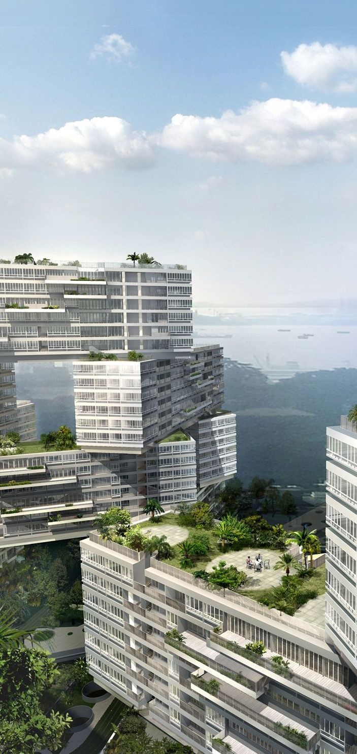 The interlace singapore designed by oma buro ole scheeren for Buro architectes