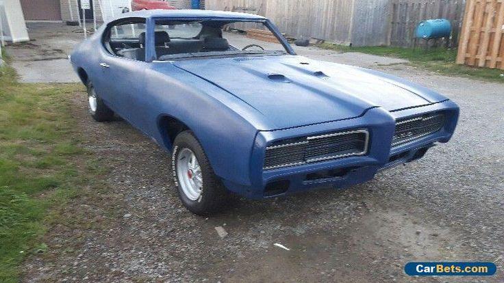 1969 Pontiac GTO #pontiac #gto #forsale #canada