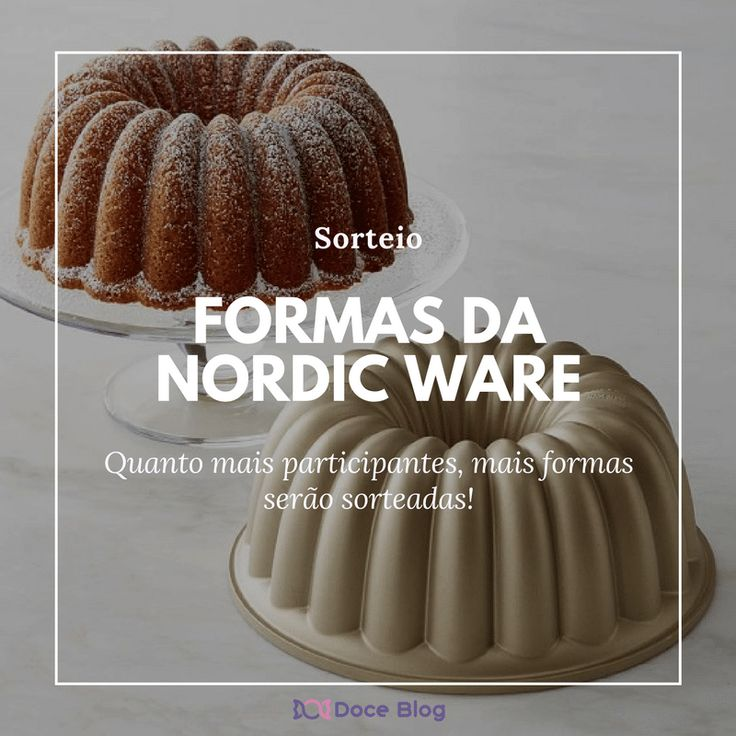 Sorteio: 1 (ou mais) Forma(s) de bundt cake da Nordic Ware