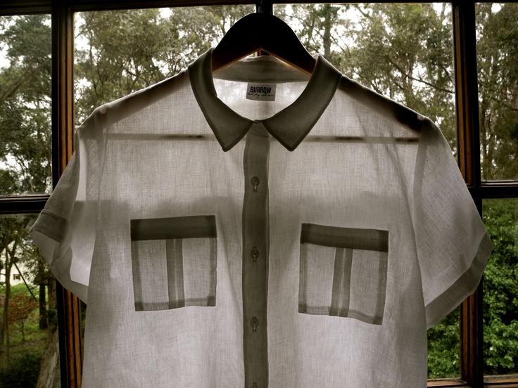 'Burrow' ladies' shirt - 100% cotton