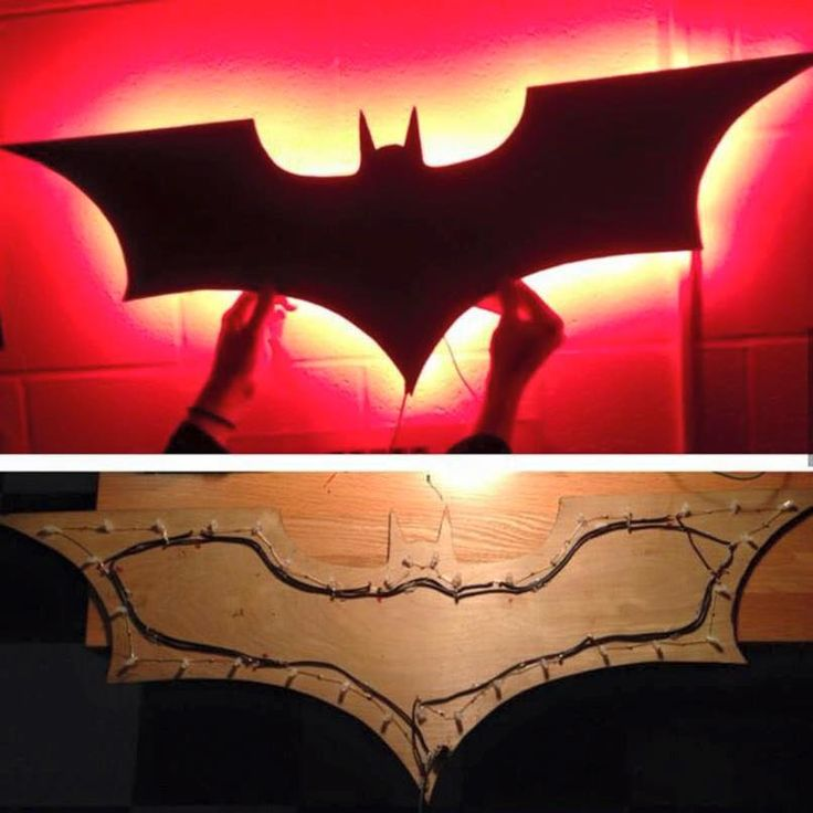 Make your Own Bat Light