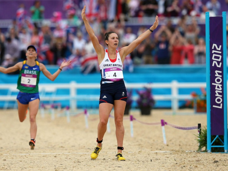 Masterful Murray: Samantha Murray earned Team GB's last medal of the Games with a Silver in the Women's Modern Pentathlon