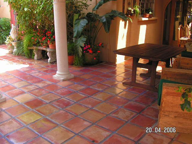 Saltillo Tile ~ Love All The Colors (like A Sunset!)