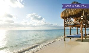 Groupon - ✈ All-Inclusive Azul Beach Resort The Fives Stay with Airfare. Price/Person Based on Double Occupancy. in Playa del Carmen, Mexico. Groupon deal price: $699
